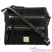 Dooney & Bourke Black Leather Sketch Slim Cross Body Bag - Disney World Exclusive © Dizdude.com