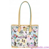 Dooney & Bourke Sketch Shopper Tote handbag - Disney World Exclusive © Dizdude.com
