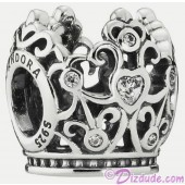 Disney Pandora Princess Crown Sterling Silver Charm