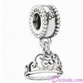 "Disney Pandora ""Cinderella's Tiara"" Sterling Silver Charm"