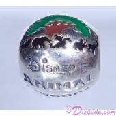 "Disney Pandora ""Animal Kingdom Theme Park"" Sterling Silver Charm - Disney World Parks Exclusive"