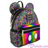 Mickey Mouse Rainbow Sequined Mini Backpack by Loungefly - Disney Parks © Dizdude.com