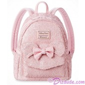 Minnie Mouse Pink Sequined Mini Backpack by Loungefly - Disney Parks © Dizdude.com
