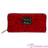 Pirates of the Caribbean Red Head Wallet by Loungefly - Disney Parks © Dizdude.com