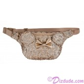 Minnie Mouse Rose Gold Sequined Hip / Fanny Pack by Loungefly - Disney Parks © Dizdude.com