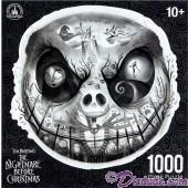 Tim Burton's The Nightmare Before Christmas 1000 Piece Jigsaw Puzzle- Disney Authentic & Original © Dizdude.com