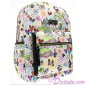 Dooney & Bourke Disney World Exclusive Nylon Sketch Backpack ~ With Black Trim © Dizdude.com