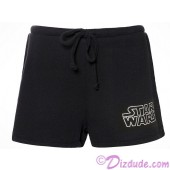 Disney Star Wars Foil Logo French Terry Adult Lounge Shorts © Dizdude.com