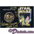 Disney Star Wars Weekends 2003 Triple Autographed Gold Coin LE1000 Signed by Amy Allen (Aayla Secura, blue skined female Twi'lek Jedi), Michonne Bourriague (Aurra Sing) and Disney artist Randy Noble
