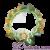 Disney Theme Park TinkerBell Flowered Headband