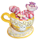 """Disney Traditions ~ Cheshire Cat in """"Mad Tea Party"""" by Artist Jim Shore © Dizdude.com"""