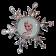 Bejewelled Snowflake Elsa Cameo © Dizdude.com