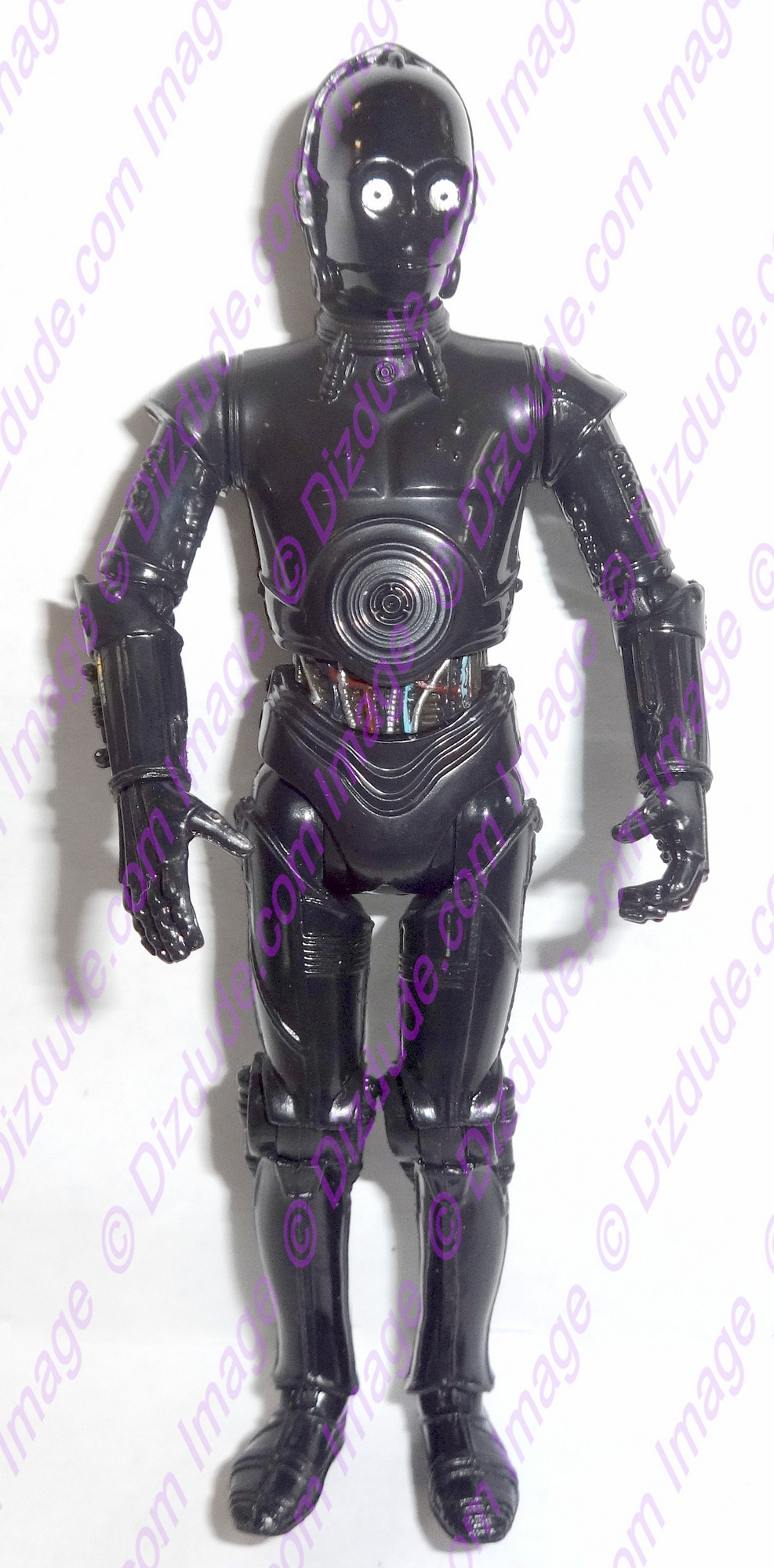 Black 3PO Protocol Droid from Disney Star Wars Build-A-Droid Factory