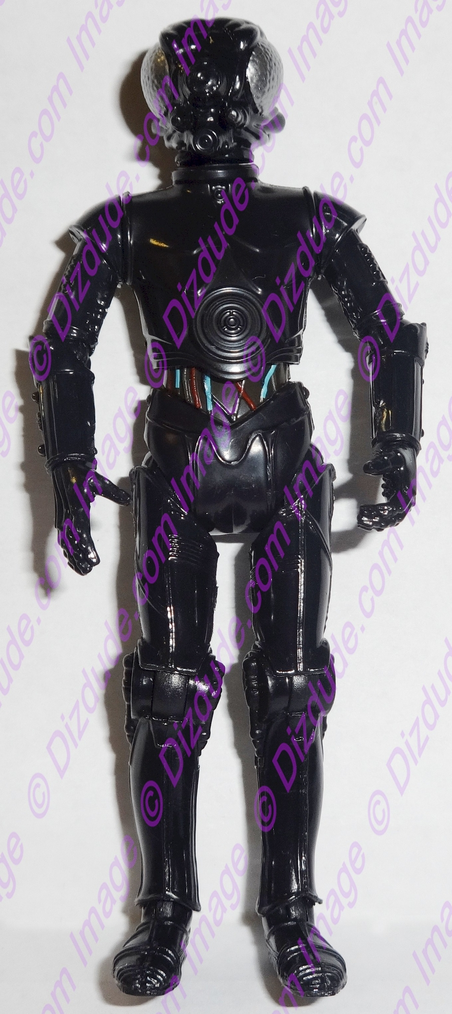 Black LOM Protocol Droid from Disney Star Wars Build-A-Droid Factory