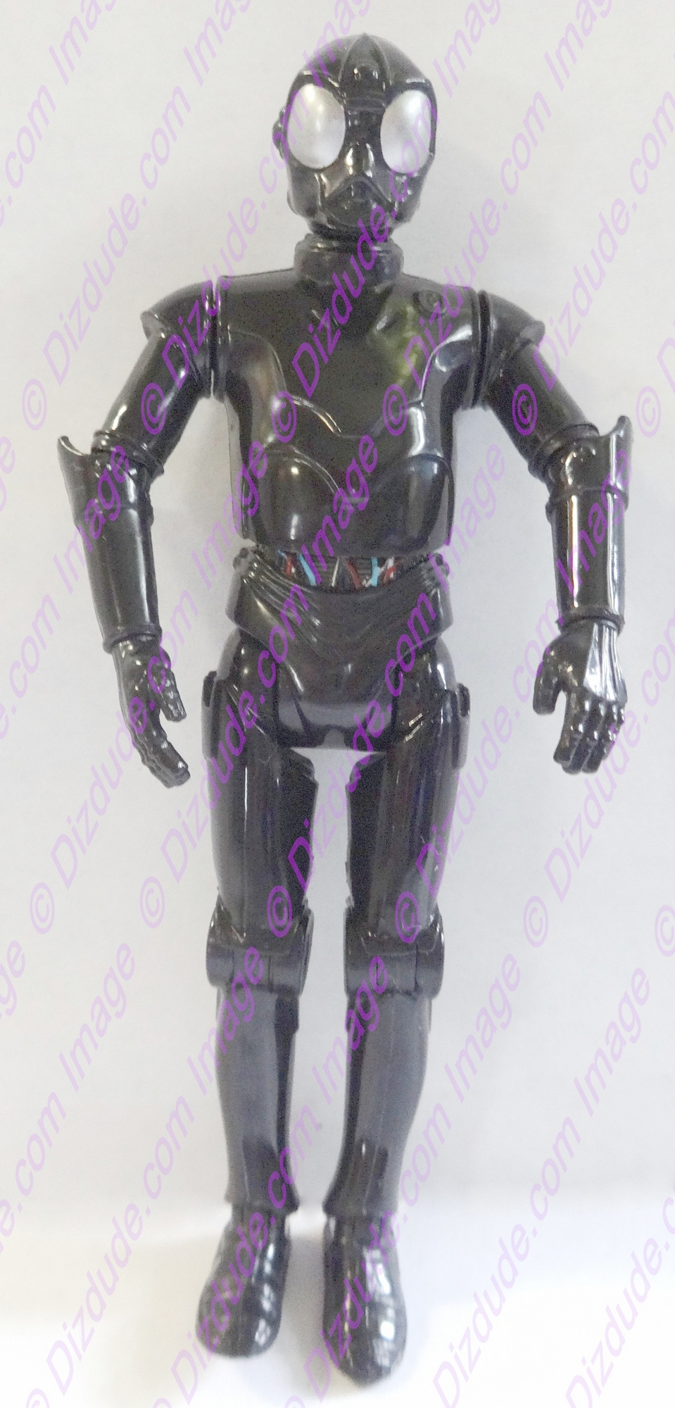 Black RA Protocol Droid from Disney Star Wars Build-A-Droid Factory