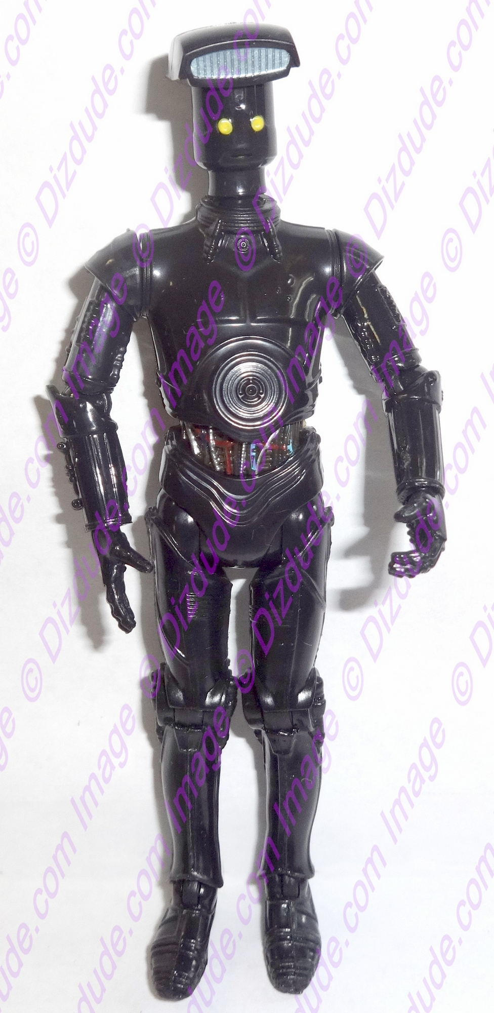 Black Vender Protocol Droid from Disney Star Wars Build-A-Droid Factory