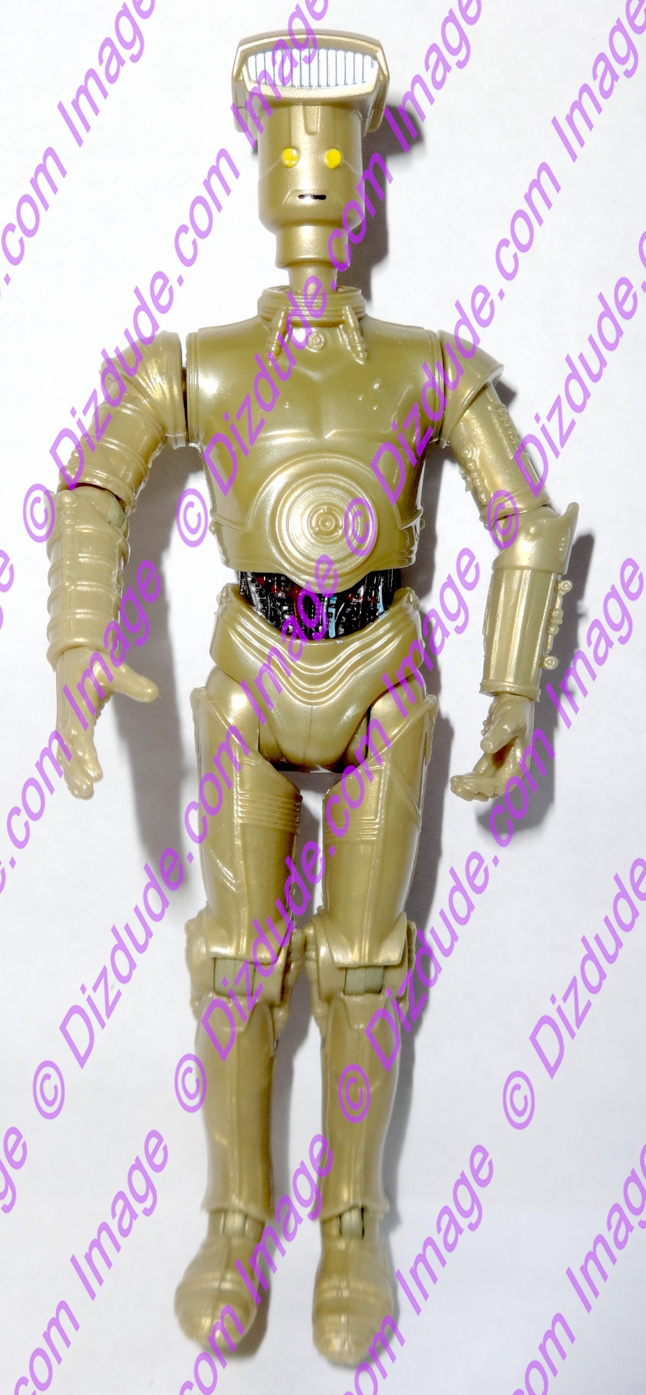 Gold Vender Protocol Droid from Disney Star Wars Build-A-Droid Factory