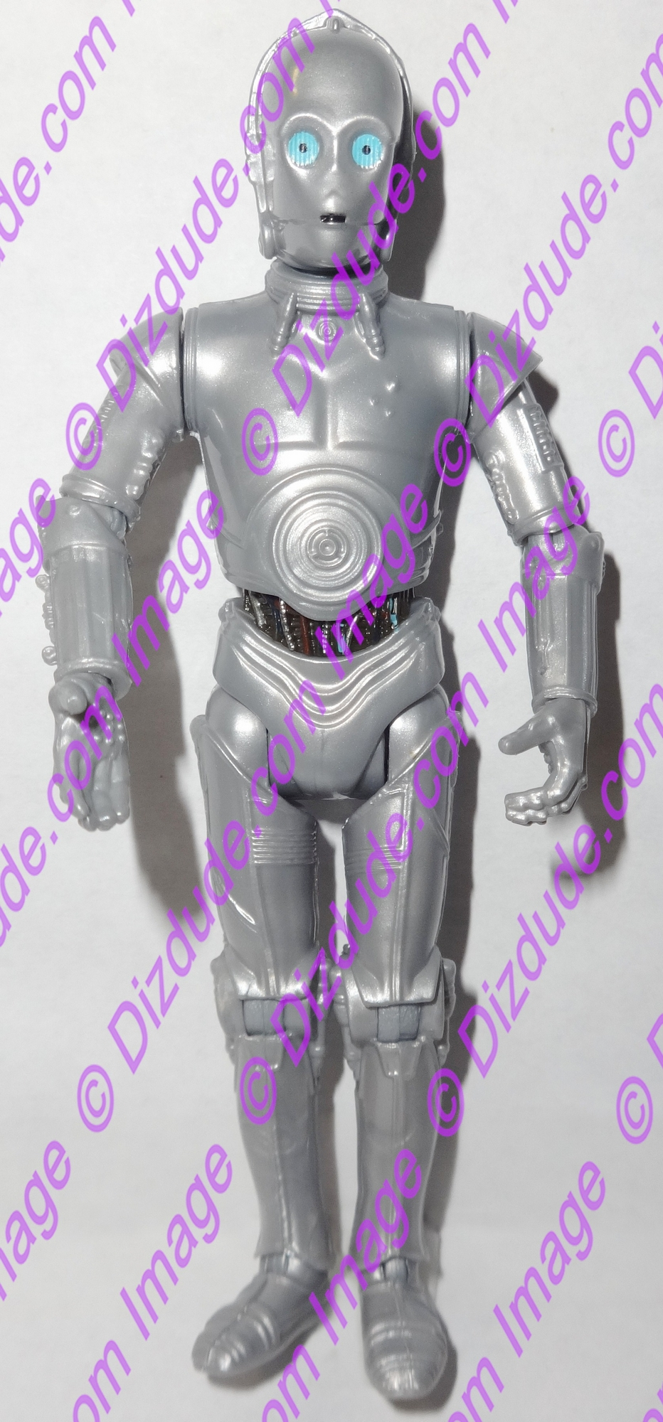 Silver 3PO Protocol Droid from Disney Star Wars Build-A-Droid Factory