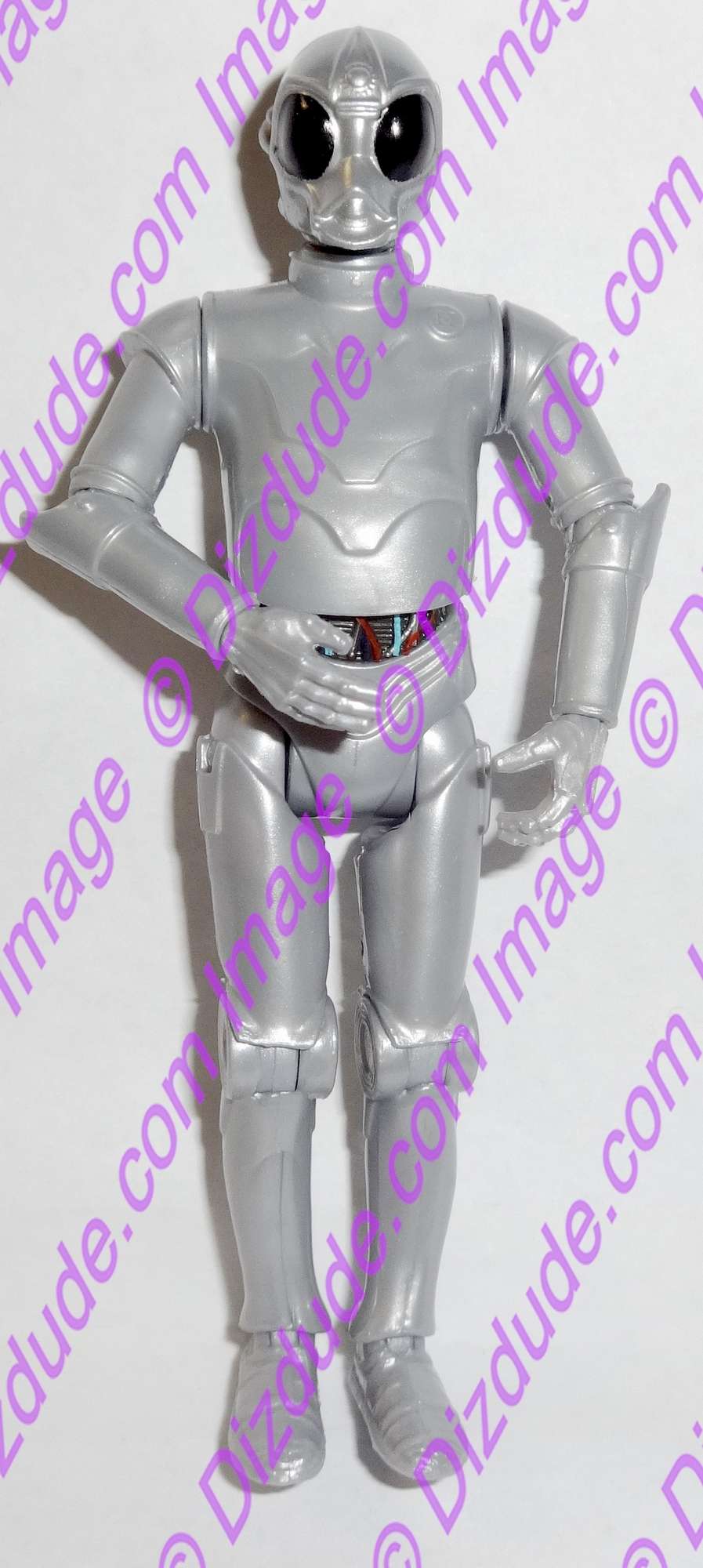 Silver RA Protocol Droid from Disney Star Wars Build-A-Droid Factory