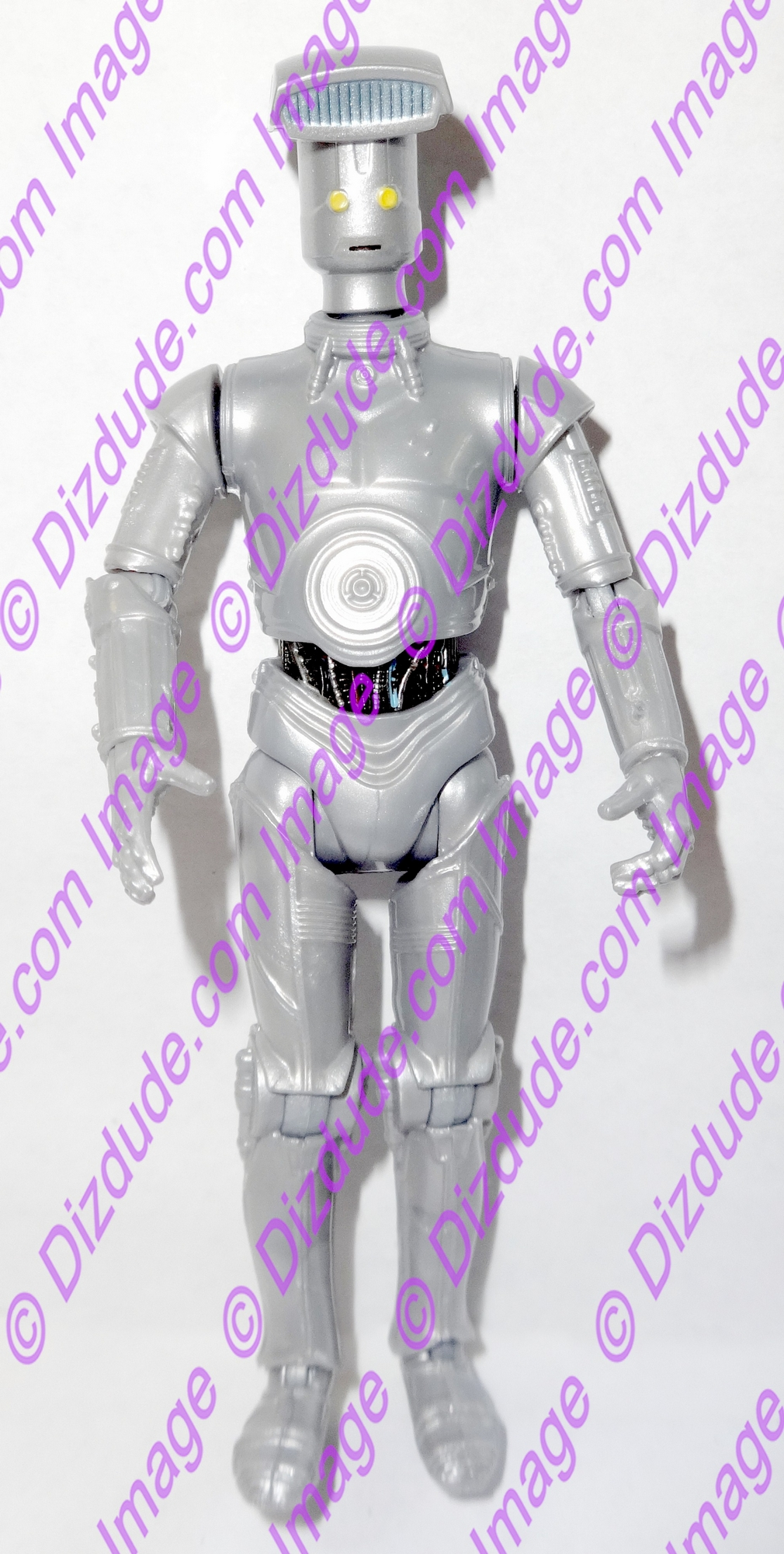Silver Vender Protocol Droid from Disney Star Wars Build-A-Droid Factory