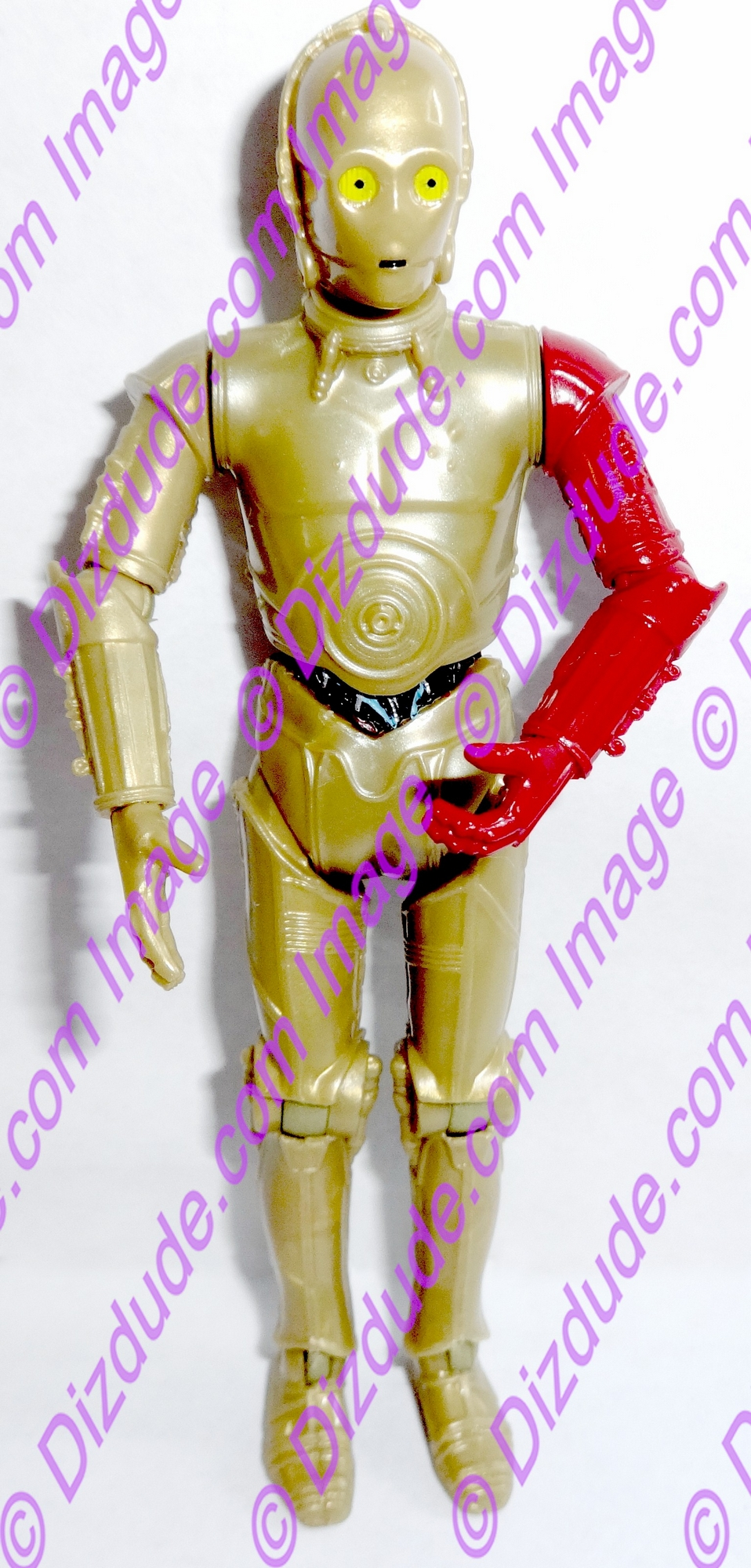 Star Wars The Force Awakens Gold C-3PO Protocol Droid from Disney Star Wars Build-A-Droid Factory
