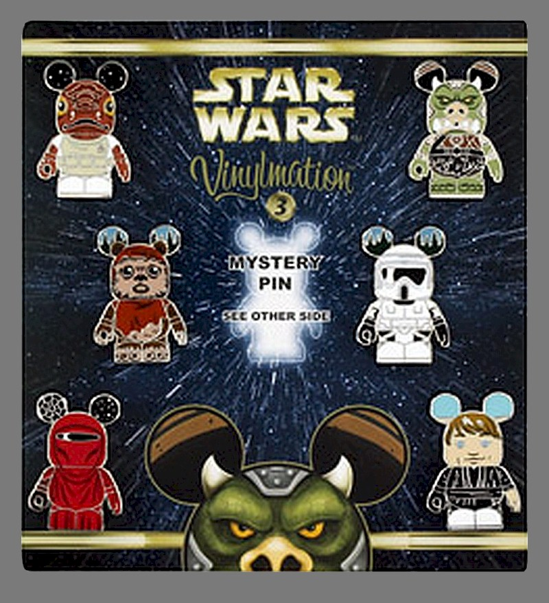 Star Wars Series 3 Vinylmation Mystery Pin Set