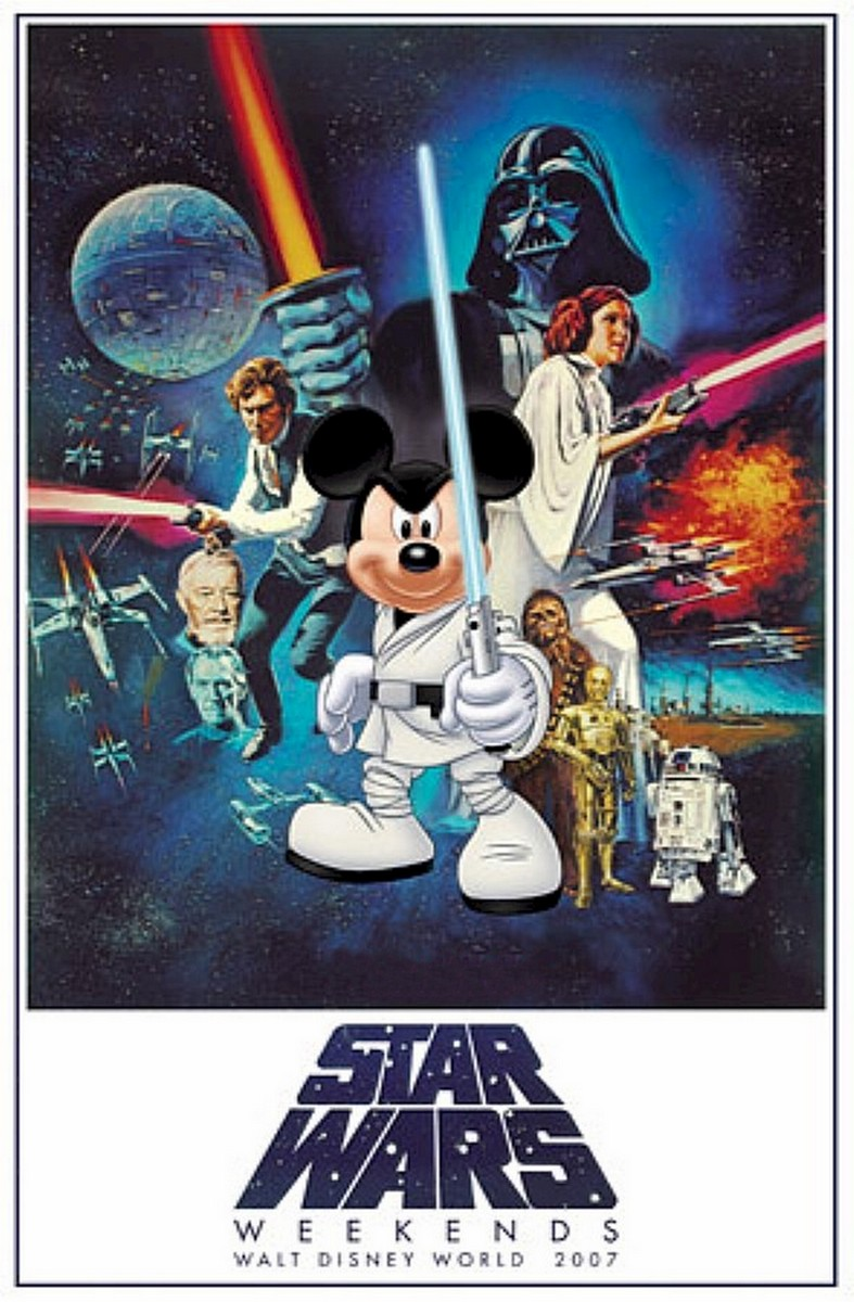 Star Wars Weekends 2007 Event Logo Poster