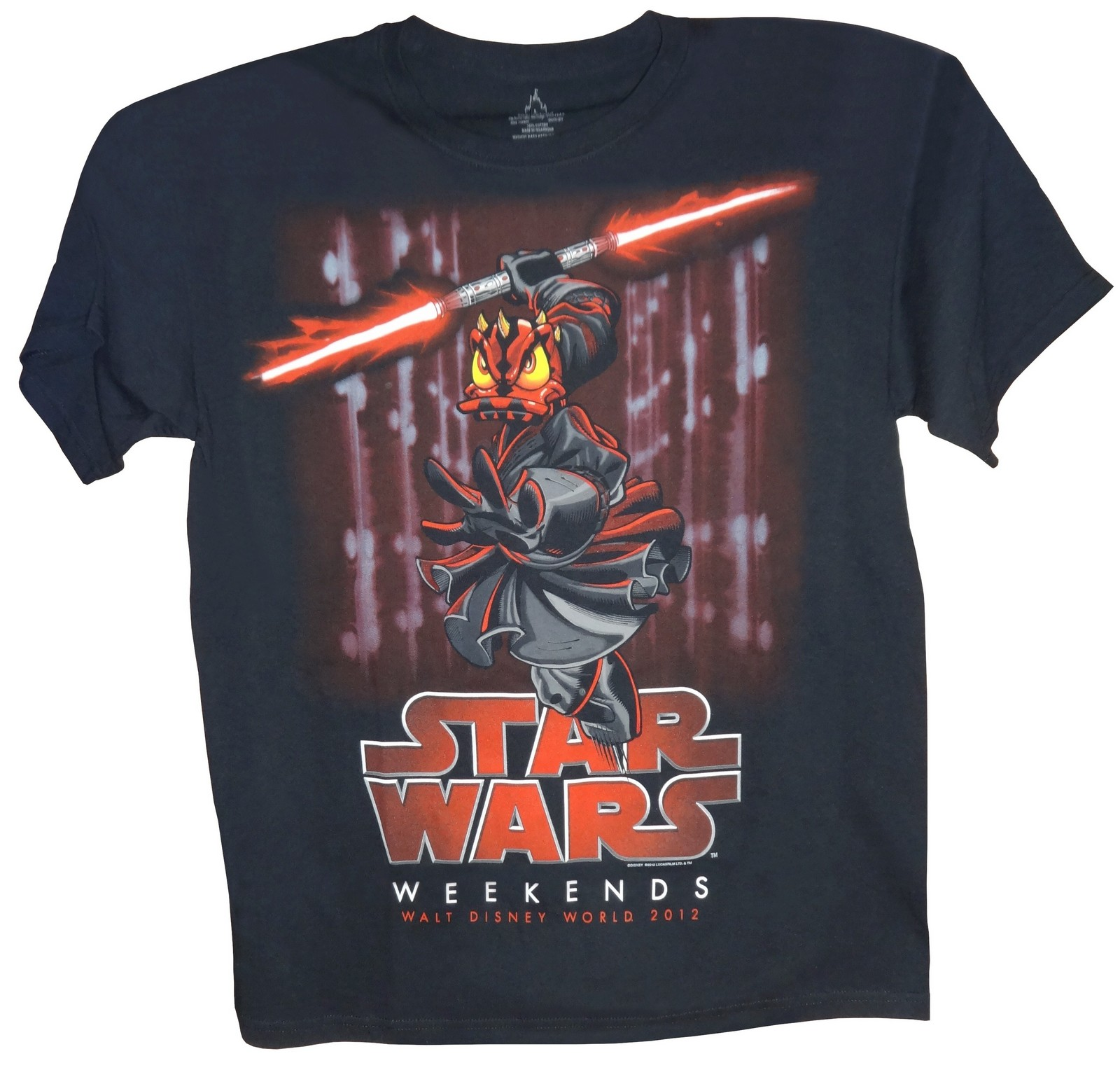 Original One of a kind Prototype Logo T-shirt Disney Star Wars Weekends 2012