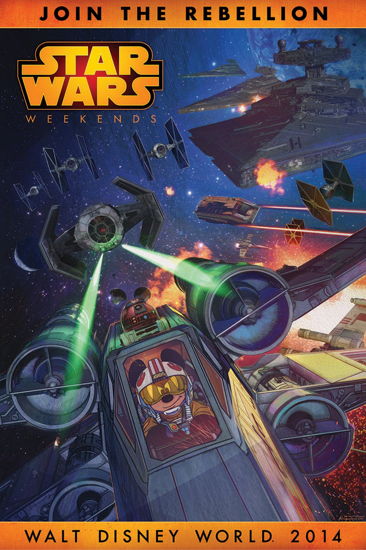 Disney Star Wars Weekends 2014 Logo