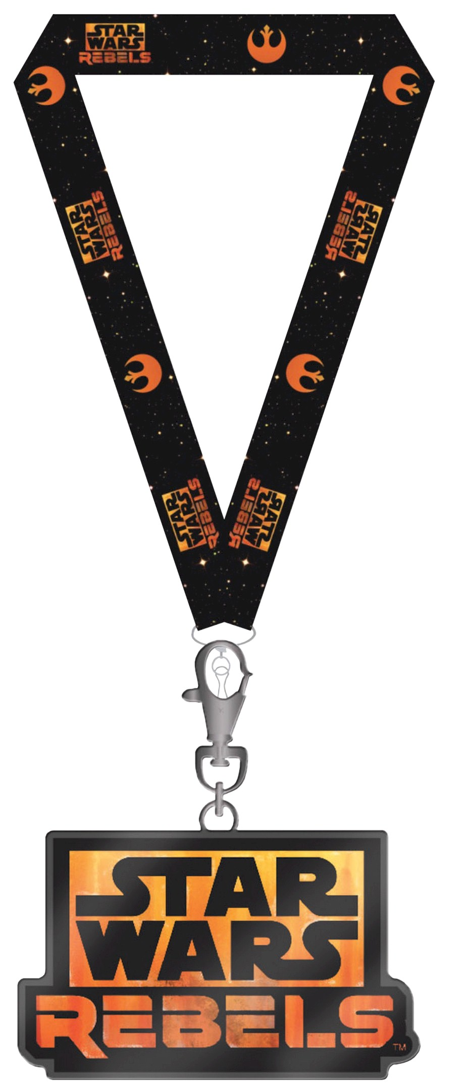 Limited Edition Star Wars REBELS Recruitment Pack Lanyard and Medal ~ Disney Star Wars Weekends 2014