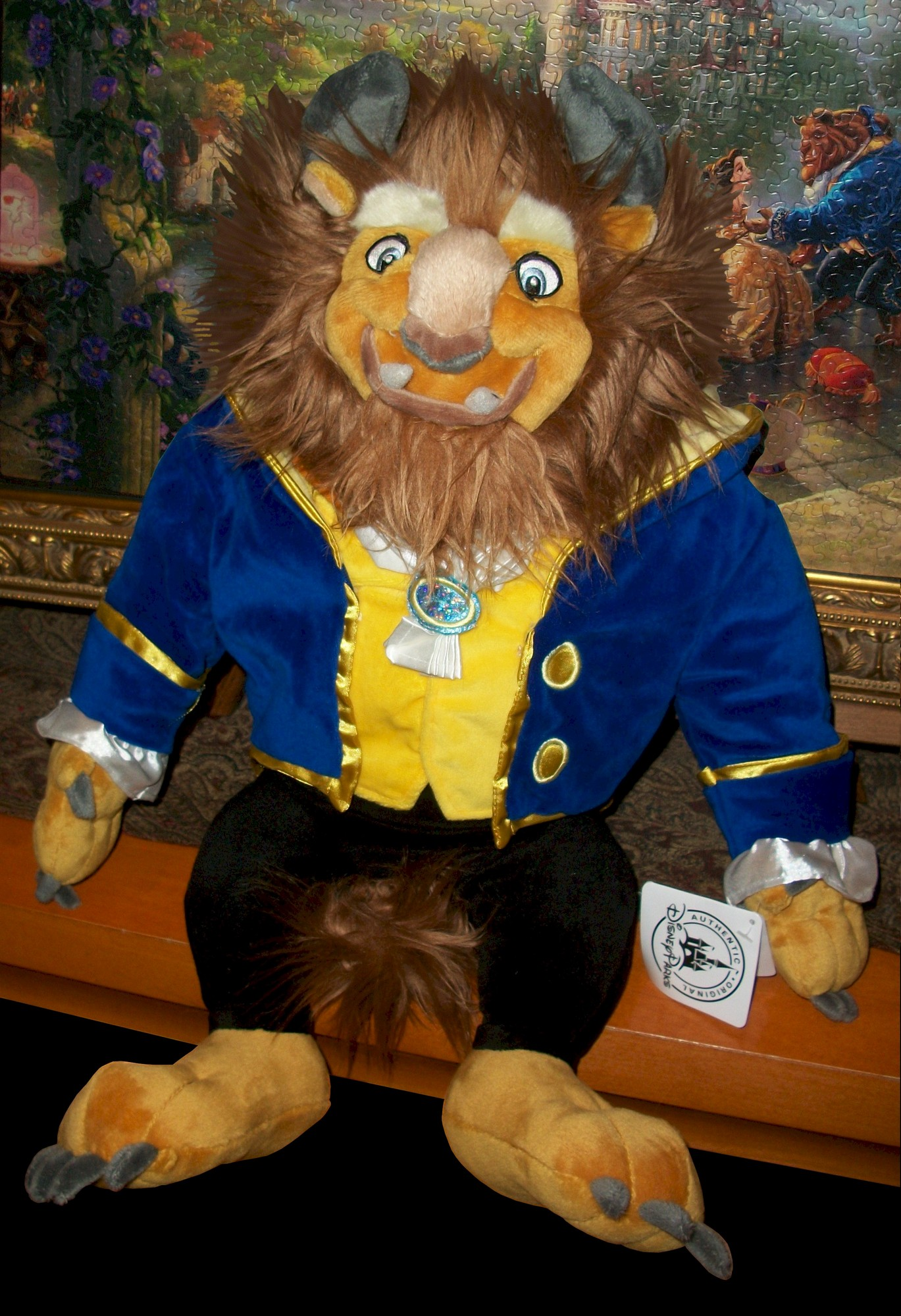 "Disney's Magic Kingdom 18"" Beast Plush"