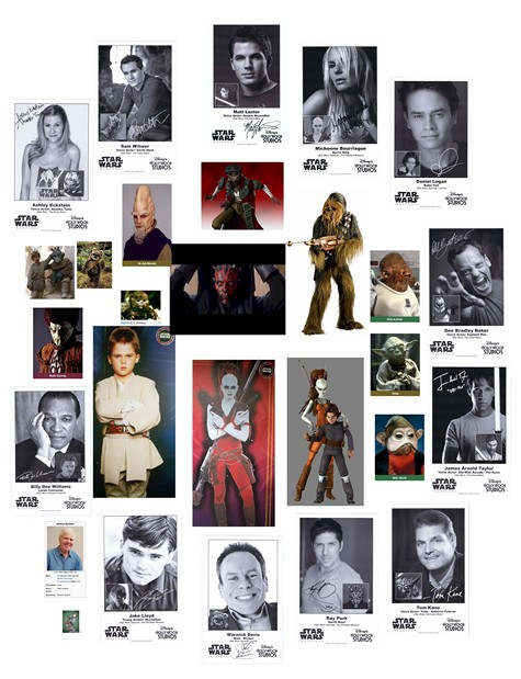 Star Wars Weekends Celebrities Attendee Promotional Collector Photos