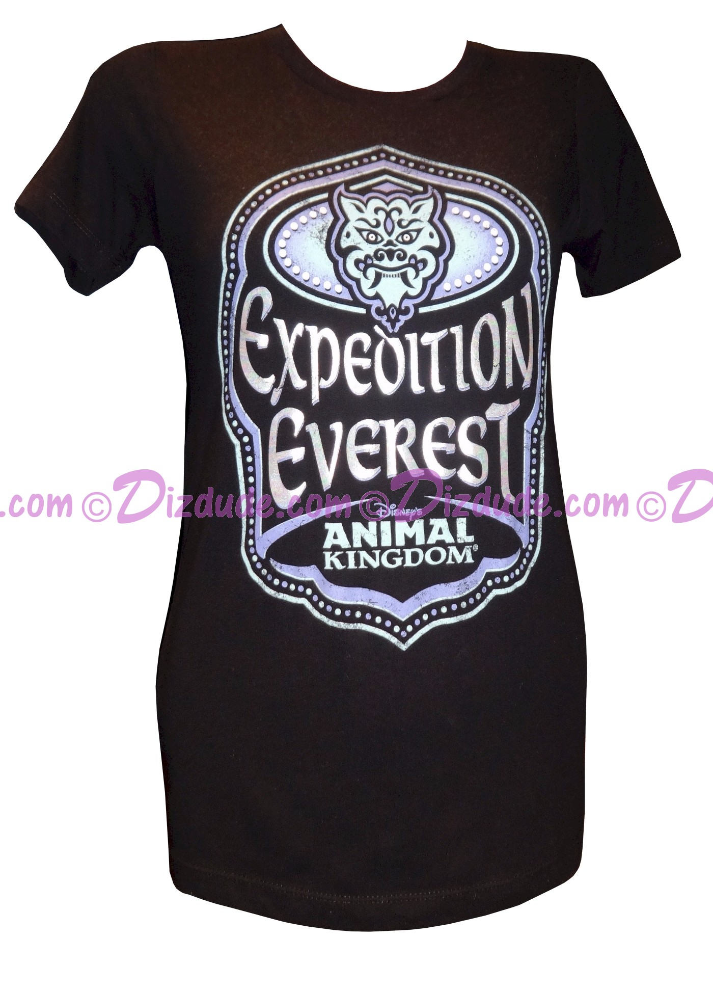 (SOLD OUT) Expedition Everest Ladies T-Shirt (Tee, Tshirt or T shirt) ~ Disney Animal Kingdom