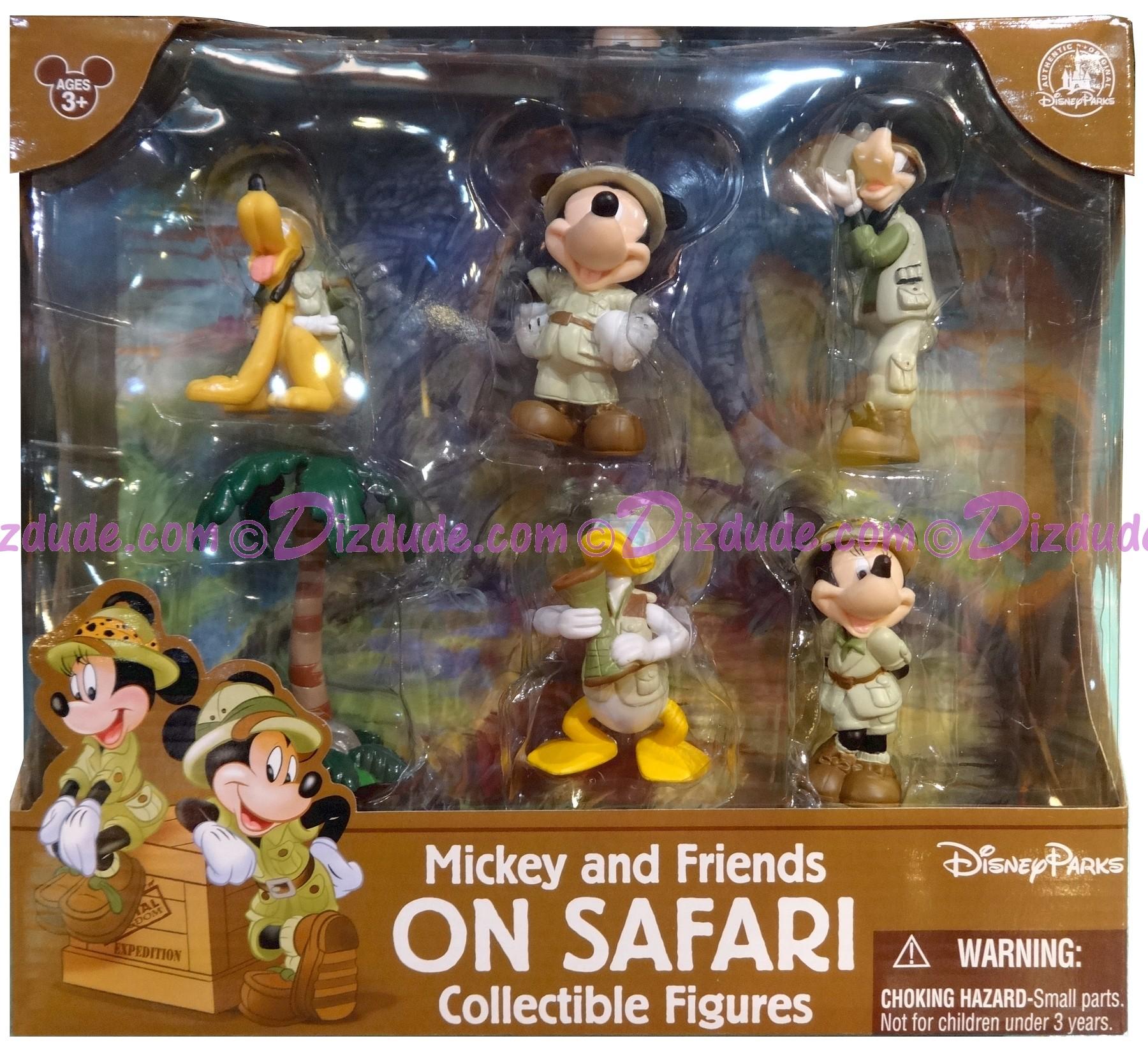 Disney Mickey and Friends on Safari Collectible Figures © Dizdude.com
