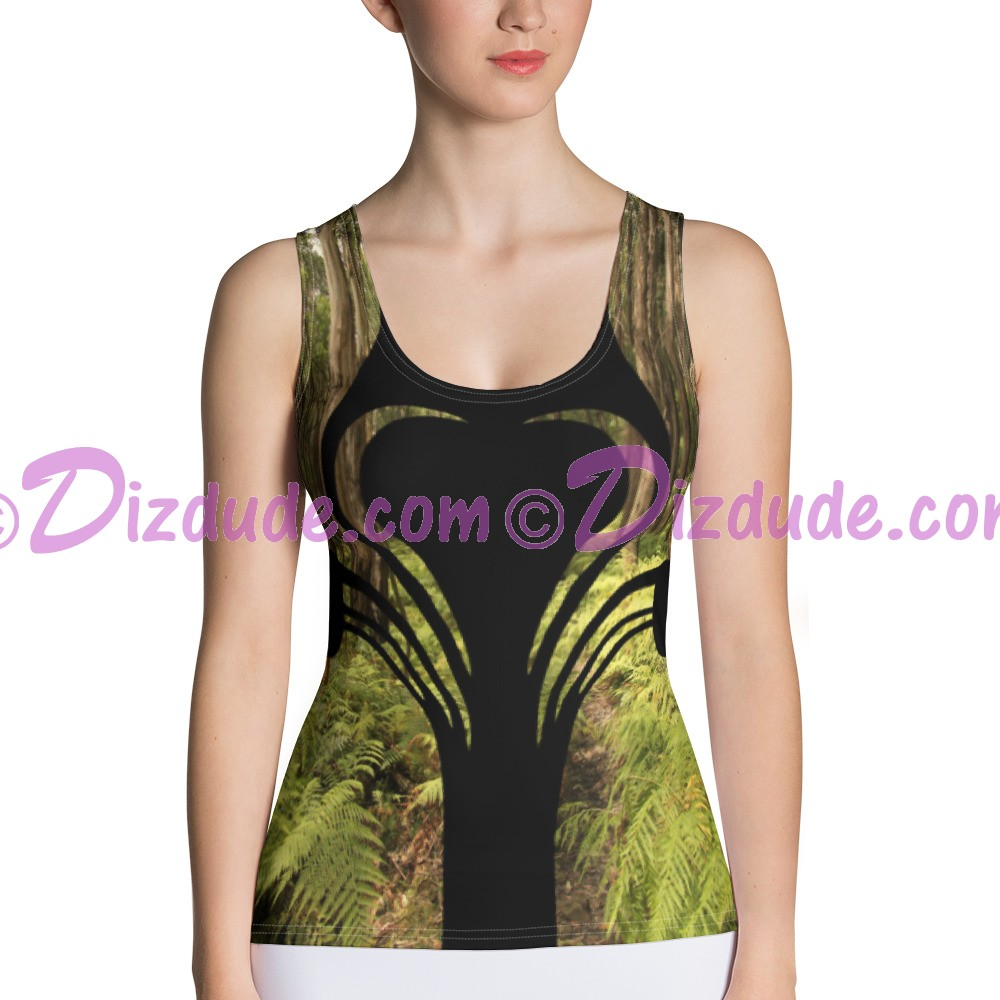 Heart Camo 2 All Over Print Ladies Tank Top © Hippieworks