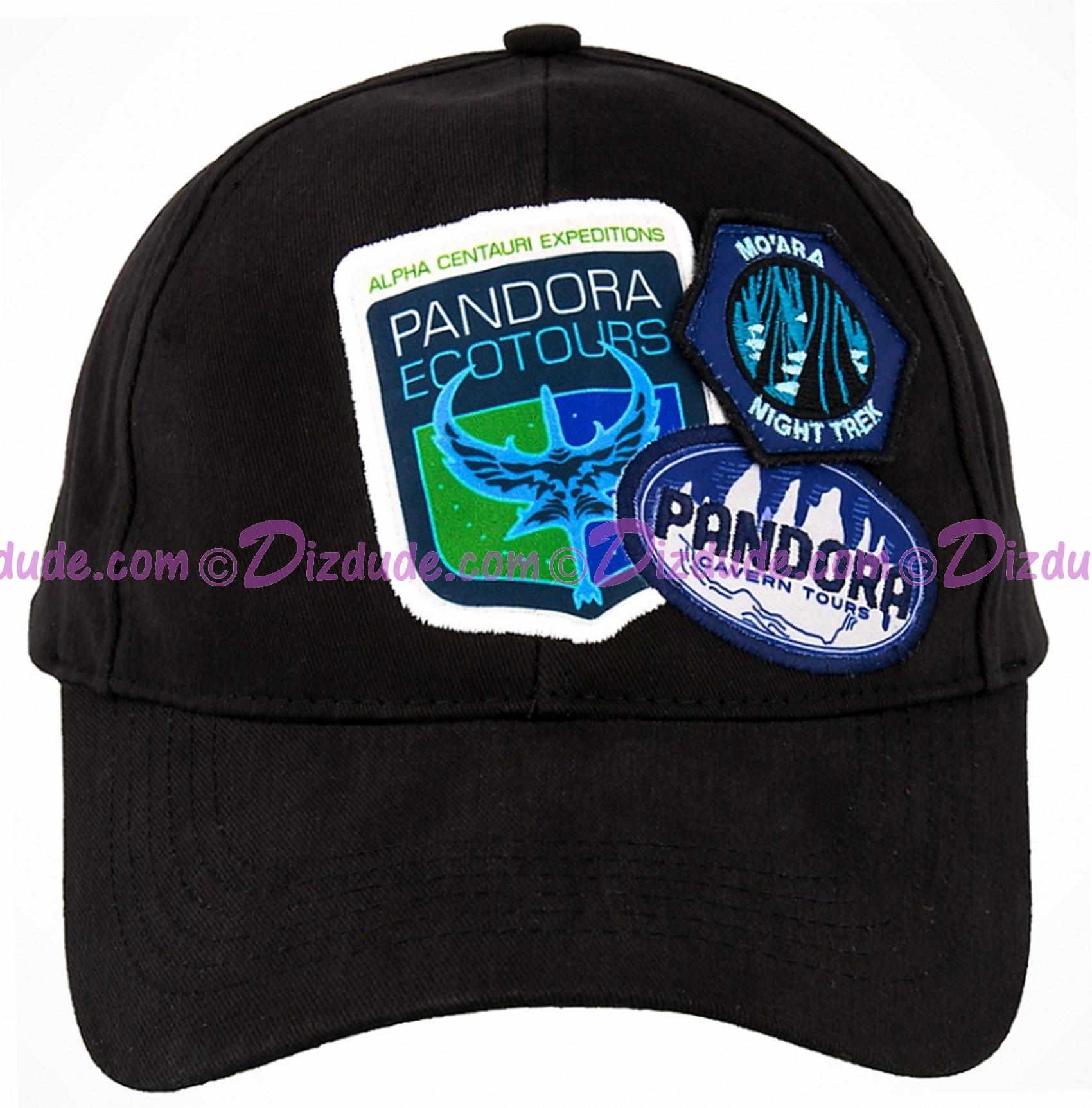 Avatar Explore The World Of Pandora Badges Baseball Hat - Disney Pandora – The World of Avatar © Dizdude.com