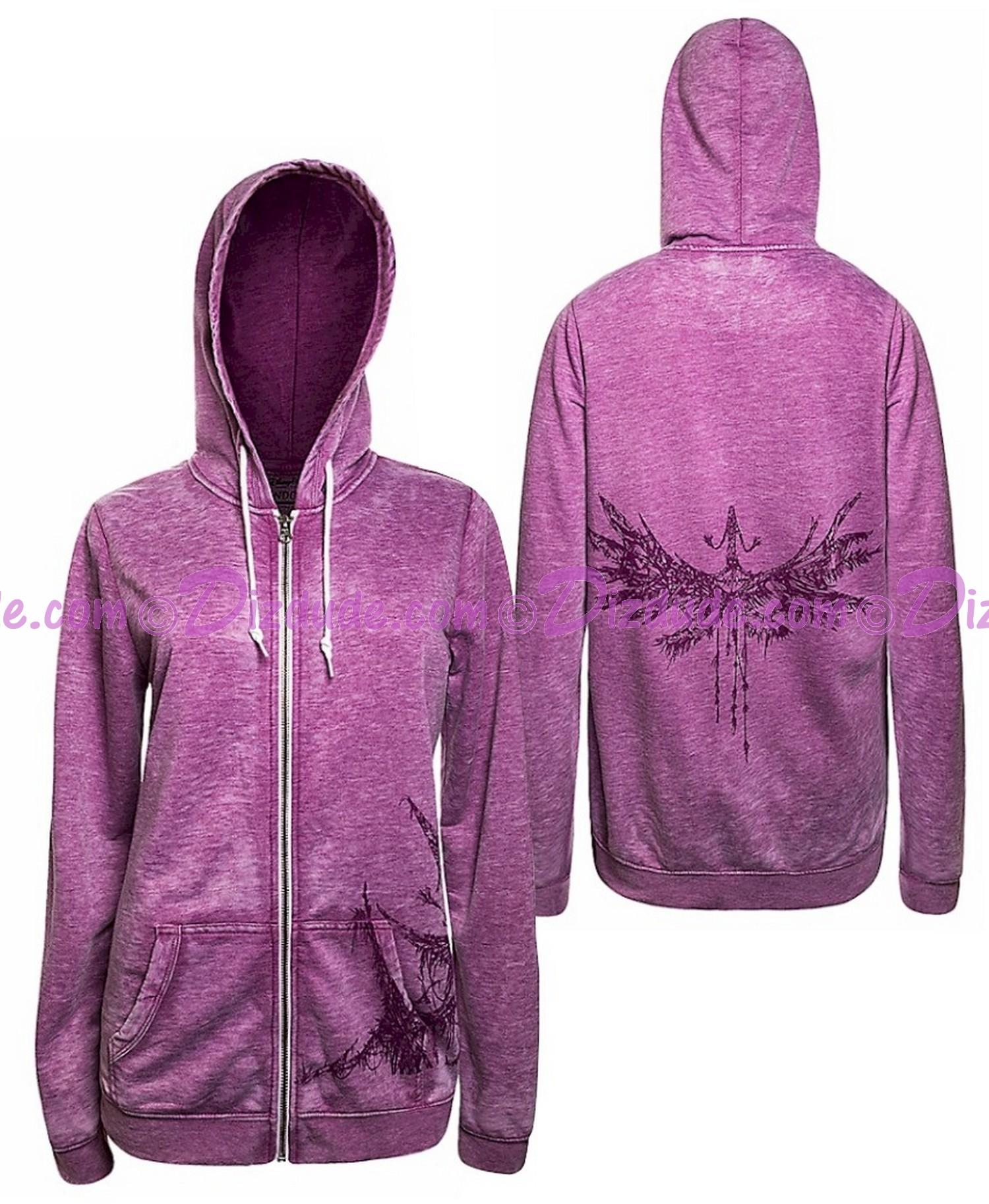 1b73699a4 (sold out) Avatar Banshee Adult Zip Hoodie - Disney Pandora – The World of