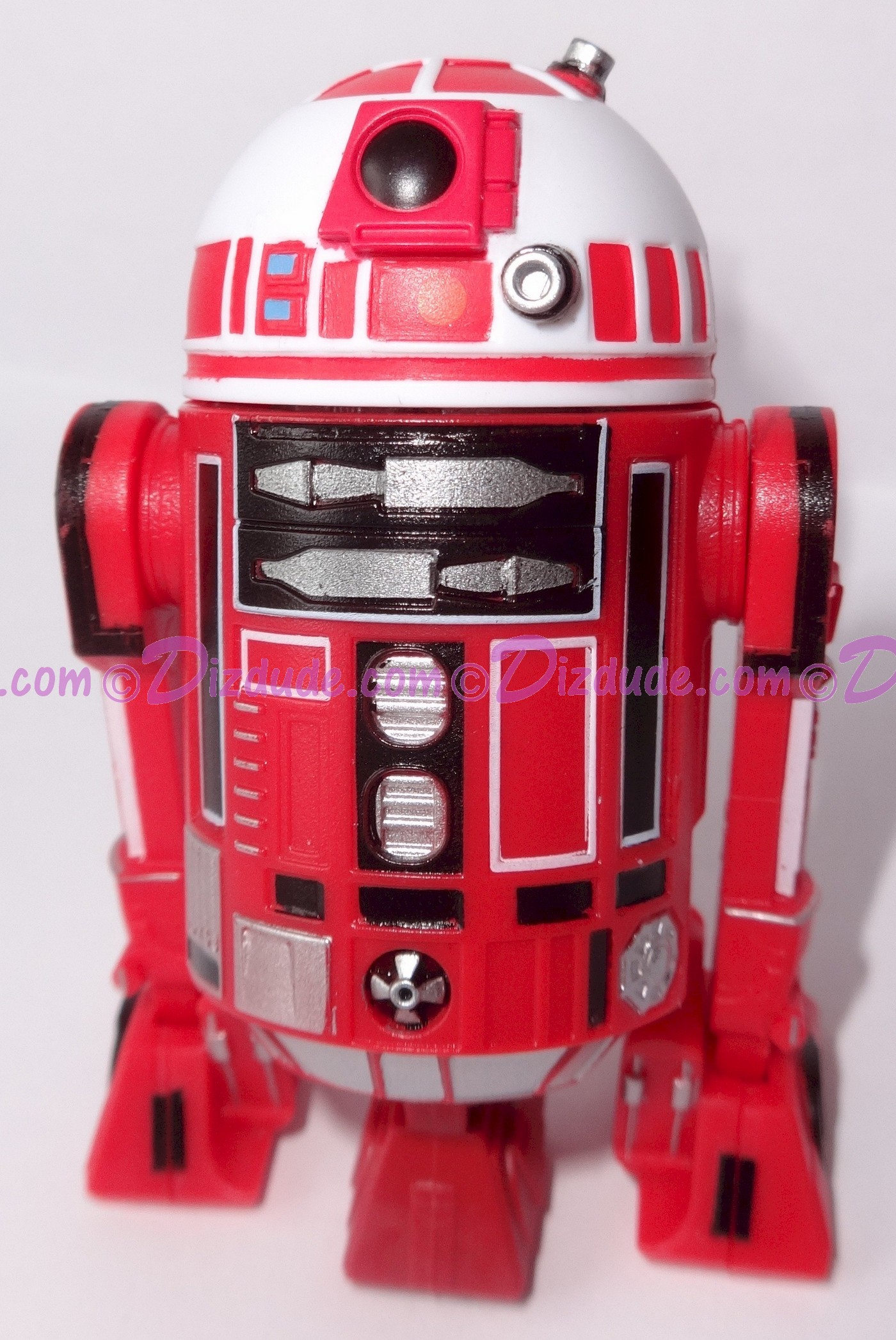 R2 Red & White Astromech Droid ~ Pick-A-Hat ~ Series 2 from Disney Star Wars Build-A-Droid Factory © Dizdude.com