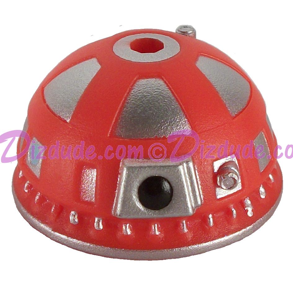 Red R9  Dome Part ~ Disney Star Wars Astromech Build-A-Droid Factory © Dizdude.com