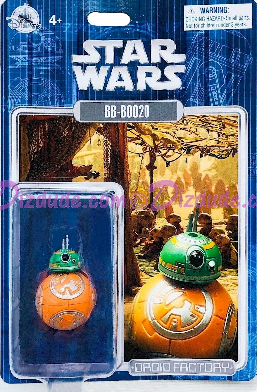 Star Wars BB-B0020 - BB-BOO20 Astromech Droid - Disney World DROID FACTORY Action Figures 3¾ Inch - Limited Release © Dizdude.com
