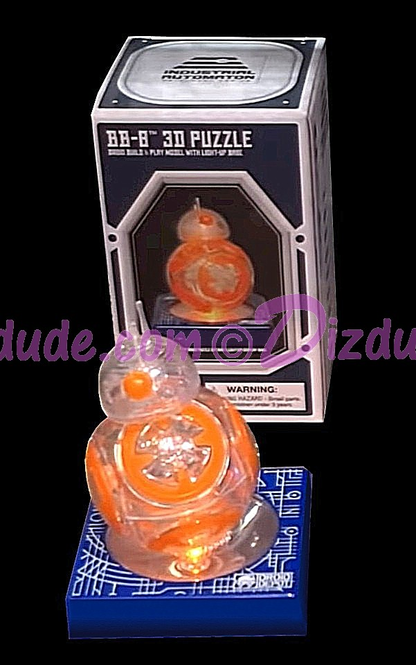 Star Wars Galaxy's Edge BB-8 3D Puzzle With Light Up Base © Dizdude.com