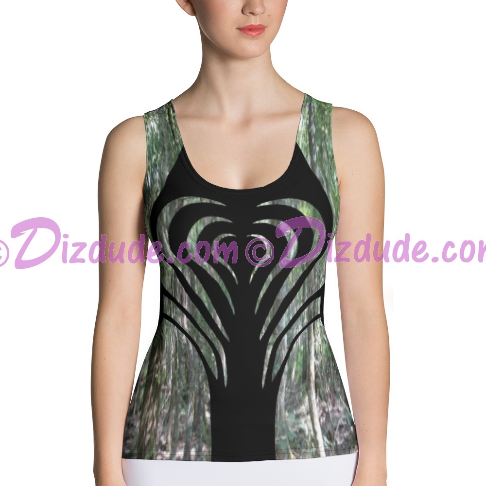 Heart Camo All Over Print Ladies Tank Top © Hippieworks