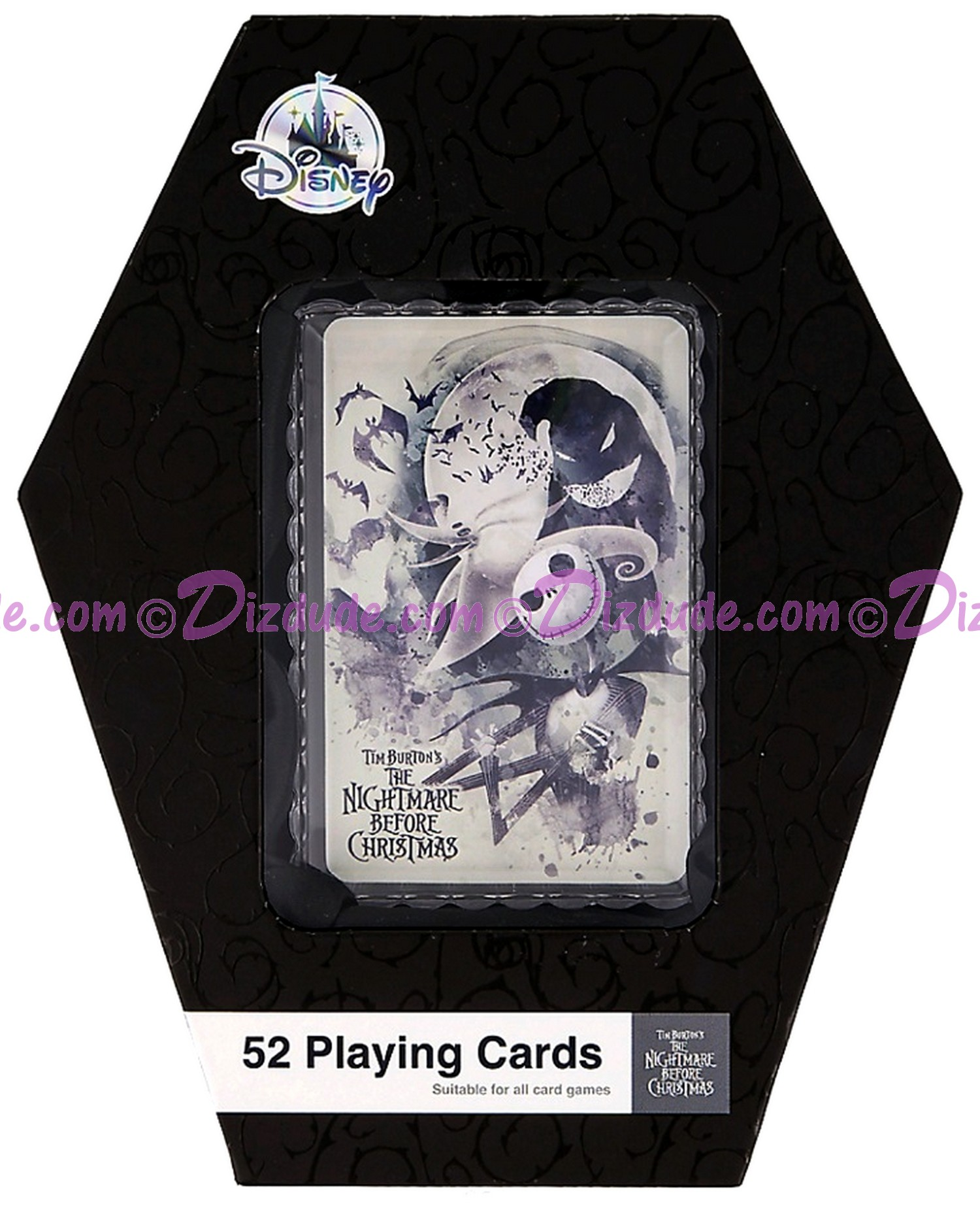 Disney The Nightmare Before Christmas Playing Cards Set (52 cards) © Dizdude.com