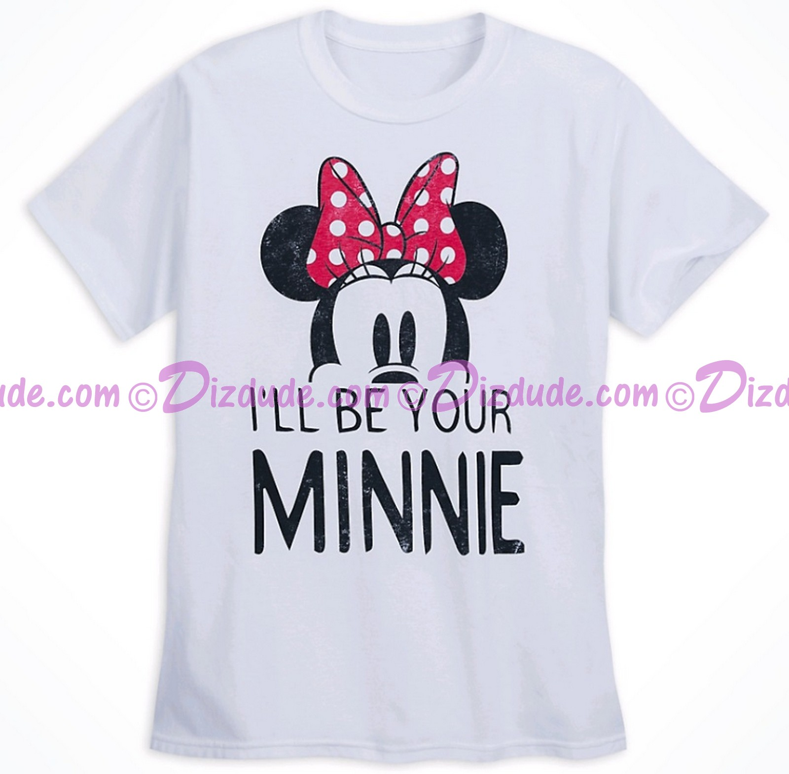 Disney Companion Shirt I'll Be Your Minnie Adult T-shirt (Tee, Tshirt or T shirt)