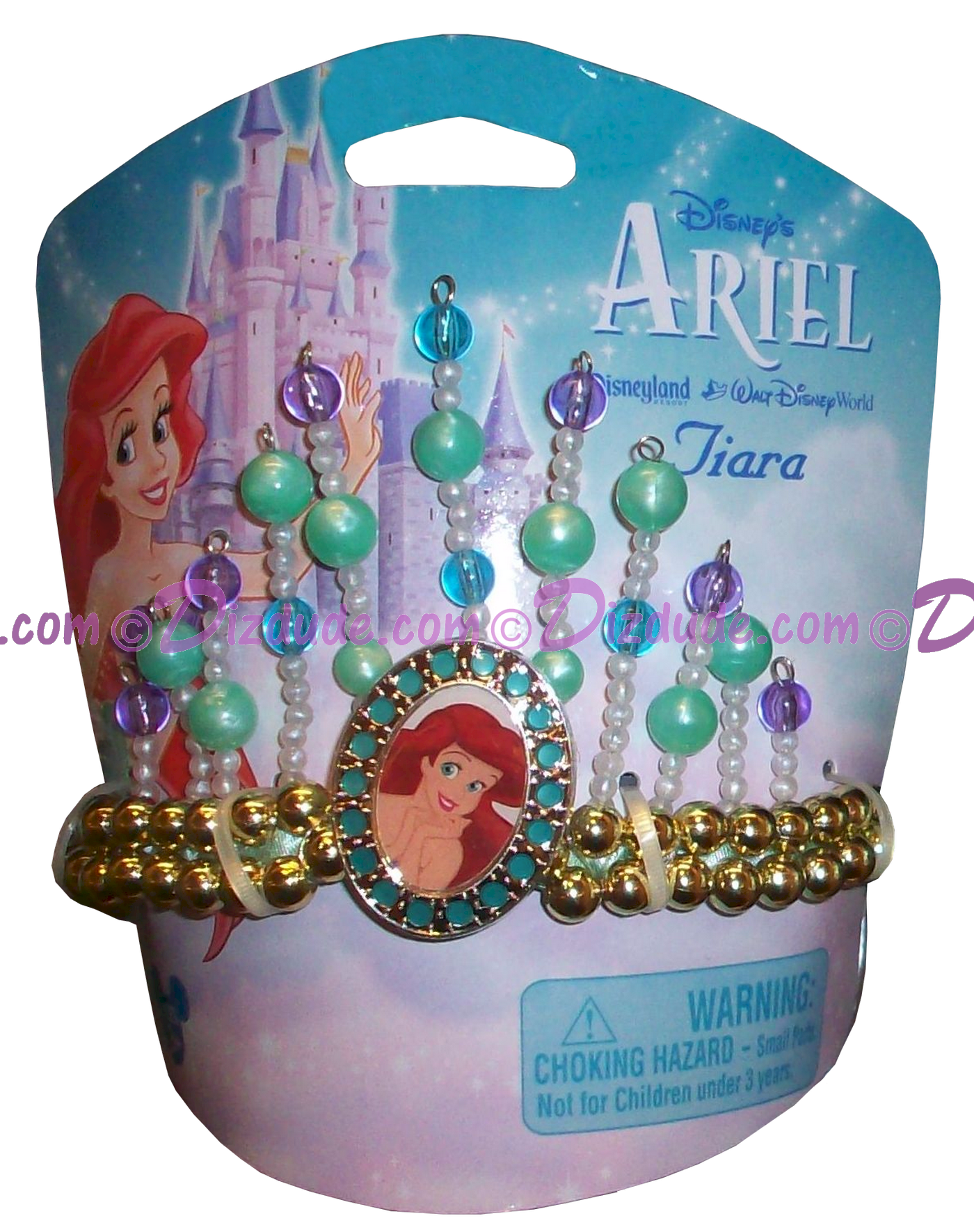 (SOLD OUT) Disney Theme Park Princess Ariel Tiara