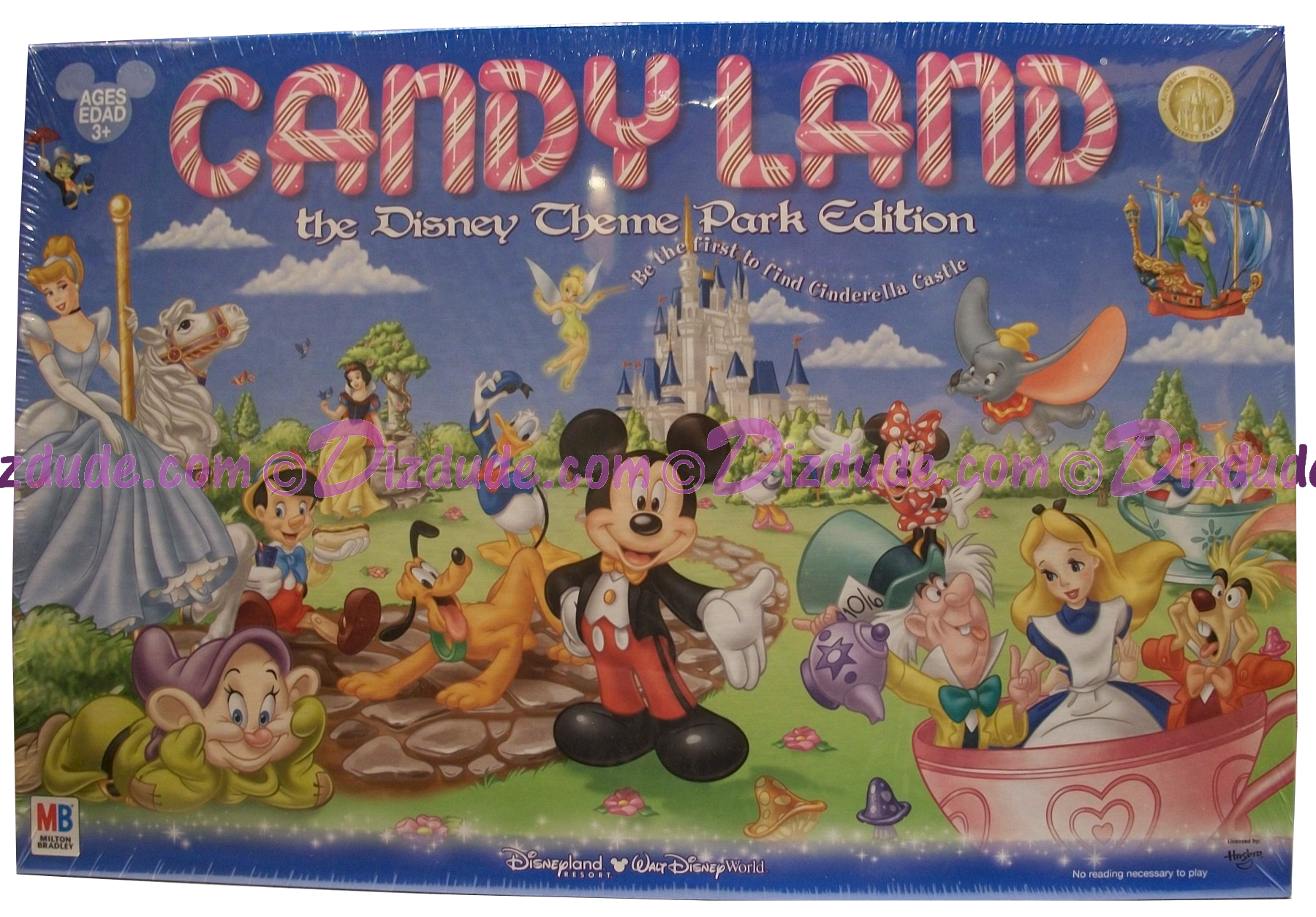 Disney World Candyland Theme Park Edition © Dizdude.com