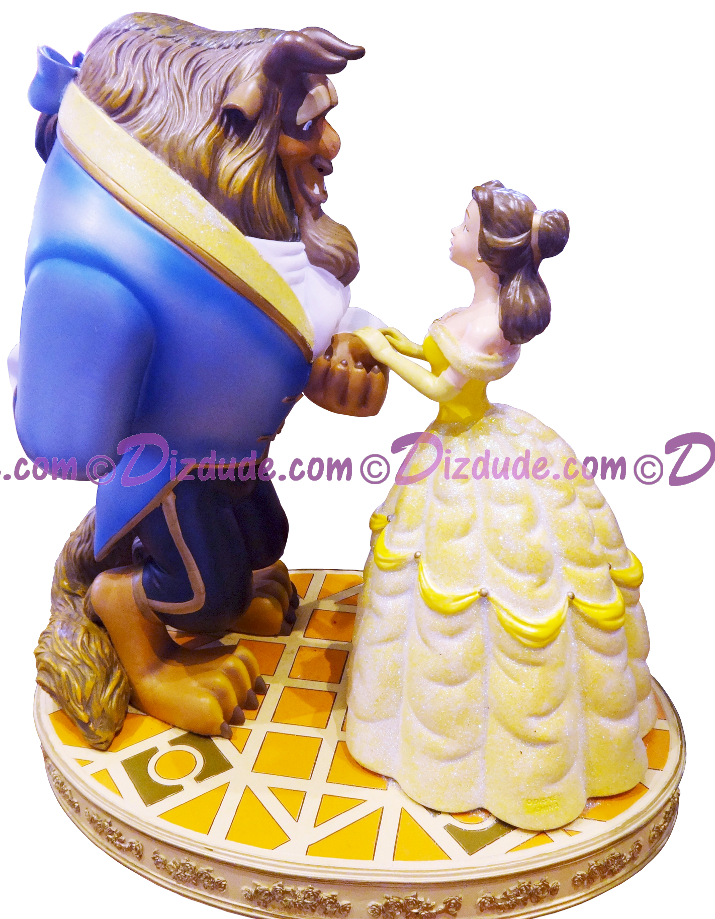 Beauty and the Beast ~ Disney Medium Big Figure - By Monty Maldovan © Dizdude.com