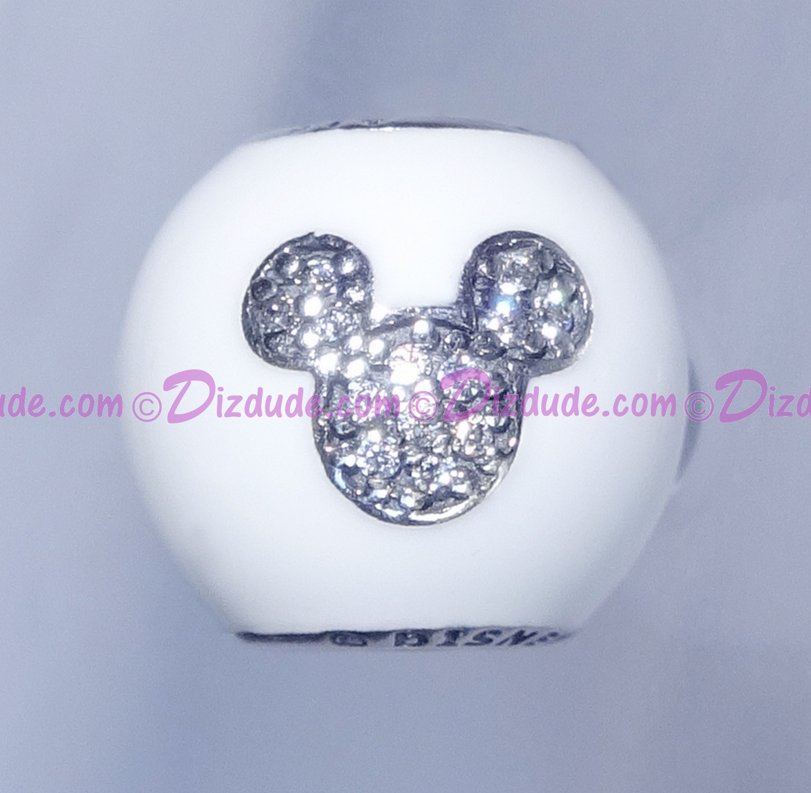 Disney Pandora I Love Mickey Sterling Silver Charm with Cubic Zirconias - Disney World Parks Exclusive