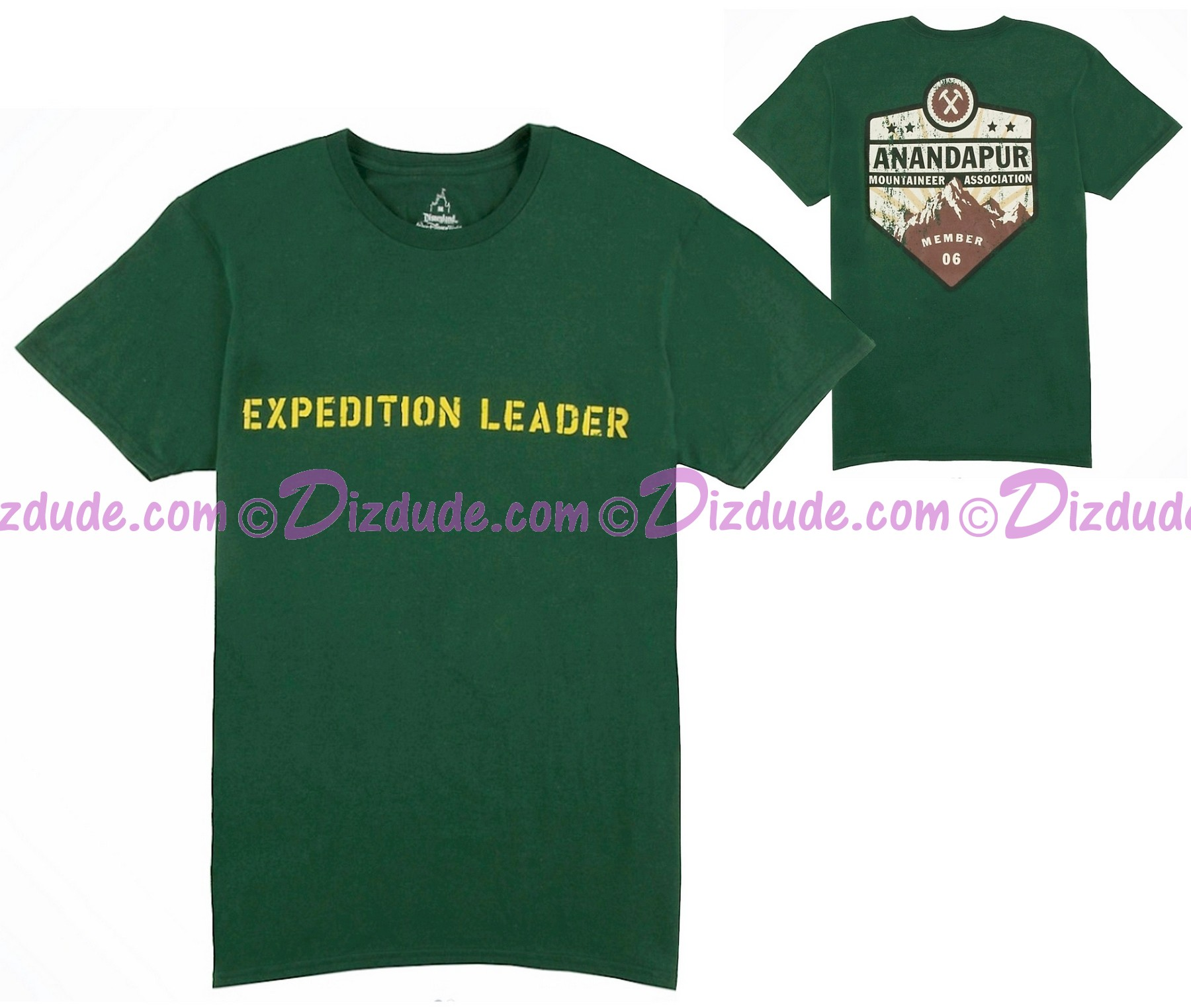 (SOLD OUT) Expedition Leader Adult T-Shirt (Tee, Tshirt or T shirt) ~ Disney Animal Kingdoms Expedition Everest