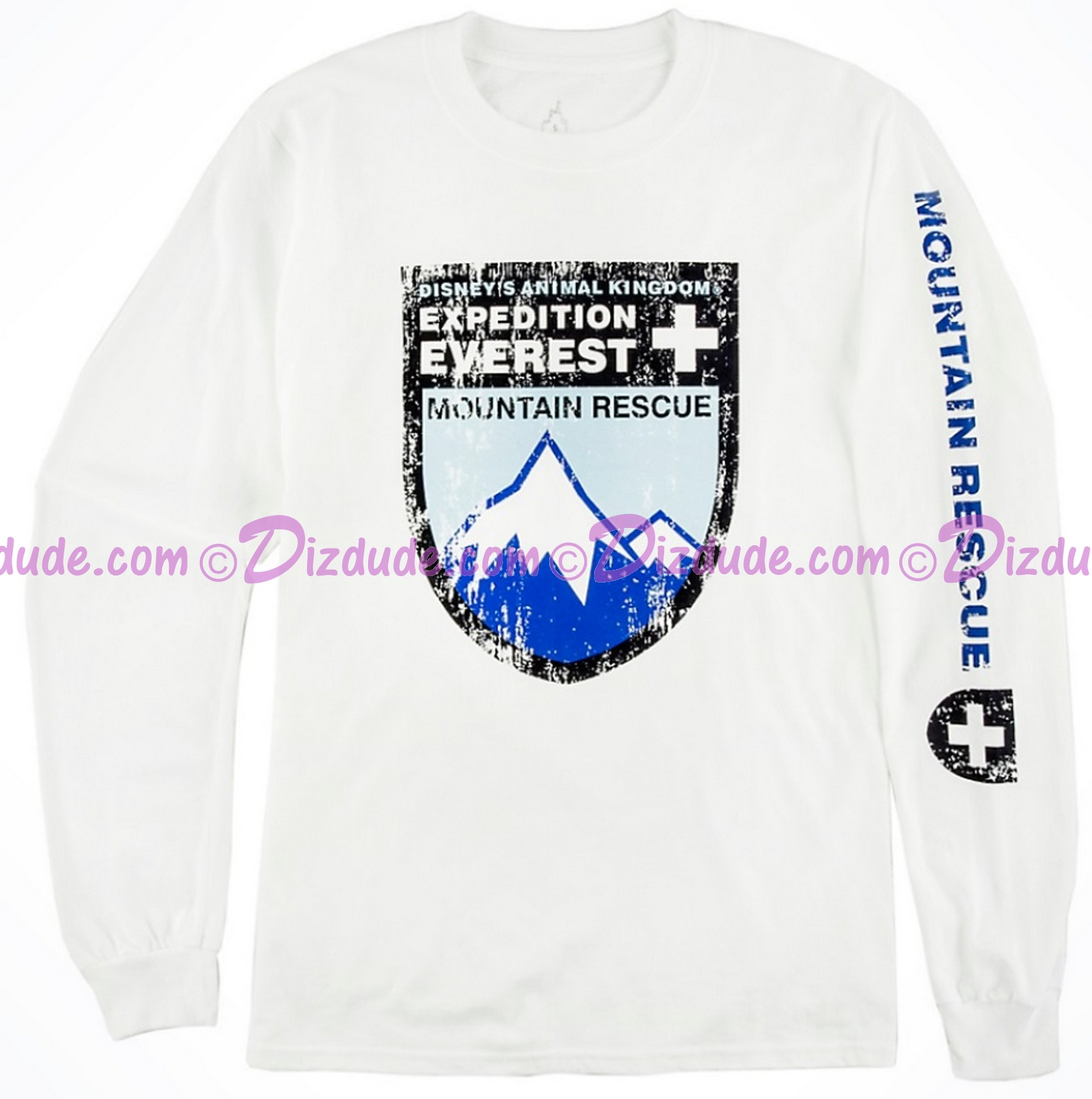 (SOLD OUT) Disney Animal Kingdoms Expedition Everest Mountain Rescue Long Sleeved Shirt